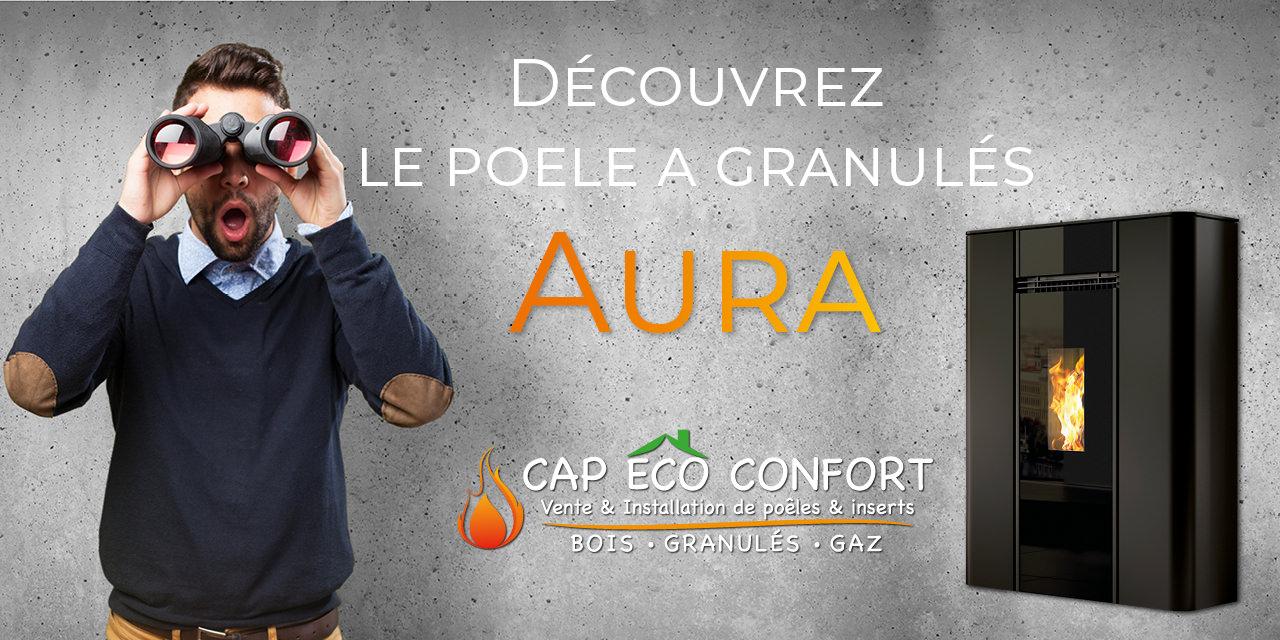 Poele A Bois Gain De Place découvrez le poêle a granulés branstal aura - cap eco confort